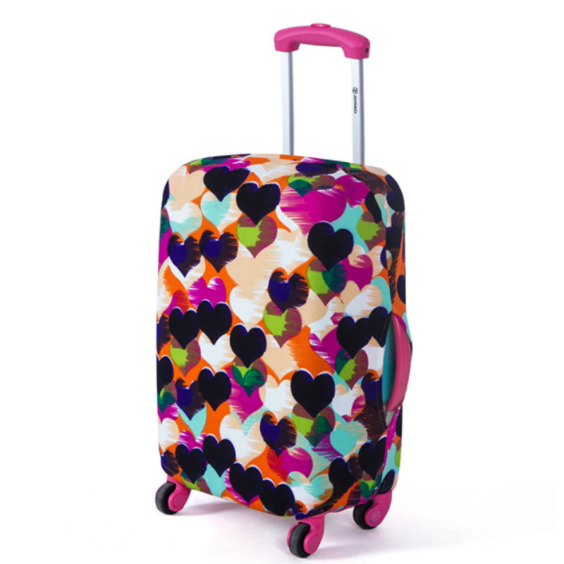 Travel Luggage Suitcase Protective Cover Trolley Case Accessories Thick Elastic Dustcover Luggage Cover High Quality