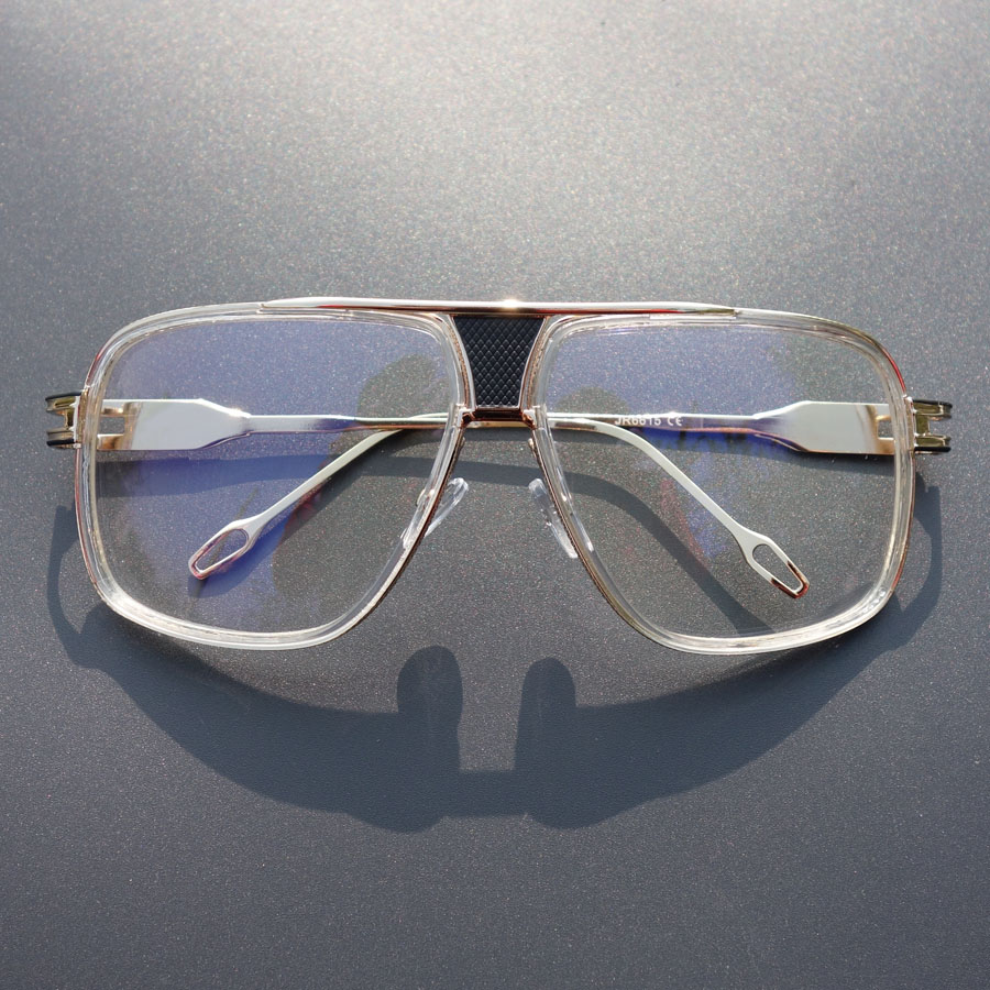 a607a2679c4 Detail Feedback Questions about Vintage Luxury Brand Designer Clear Glasses  Women Oversized Eyewear Frames Men Spectacle Glasses Frames Clear Lens ...