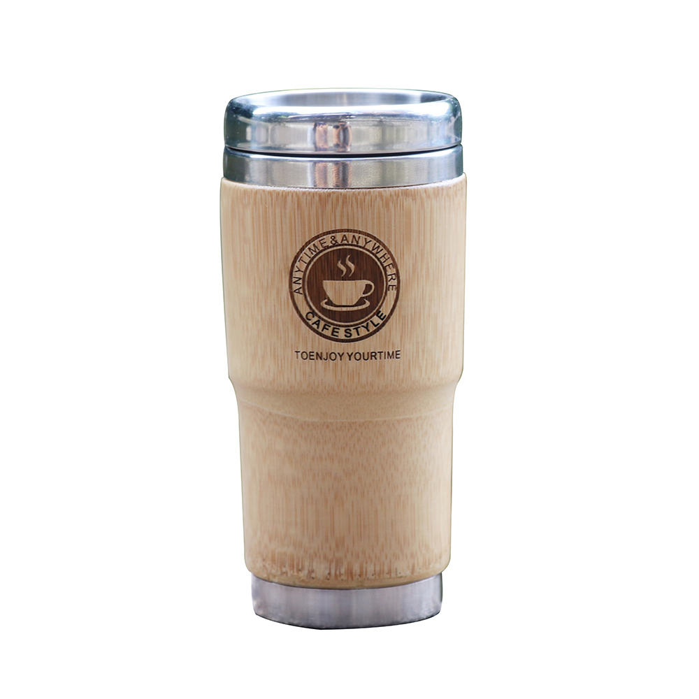 500ml Bamboo Travel Mug 4
