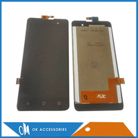 Black White Color For Micromax Q334 LCD Display Touch Screen Digitizer Assembly High Quality With Tools