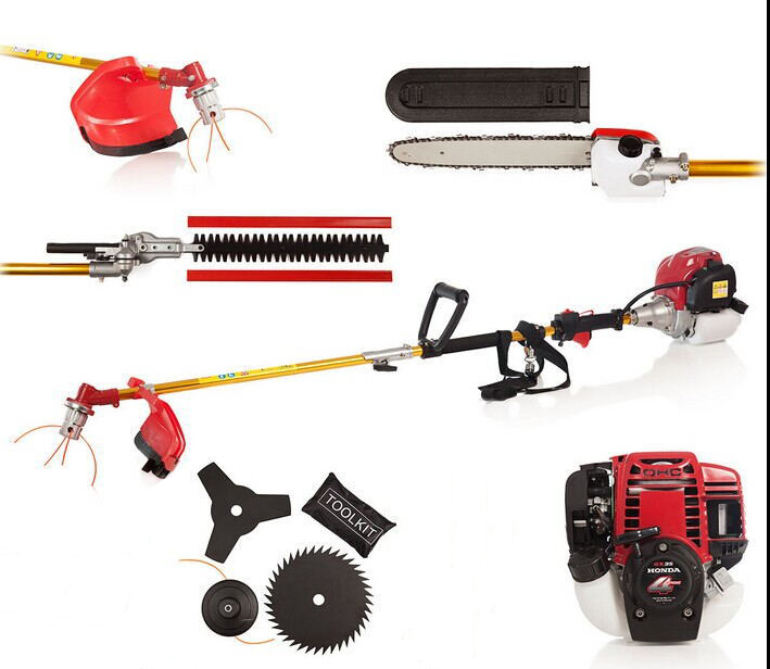 6 IN 1 POWERED by H0NDA GX35 BRUSHCUTTER WHIPPER SNIPPER CHAINSAW - Unelte de gradina - Fotografie 1