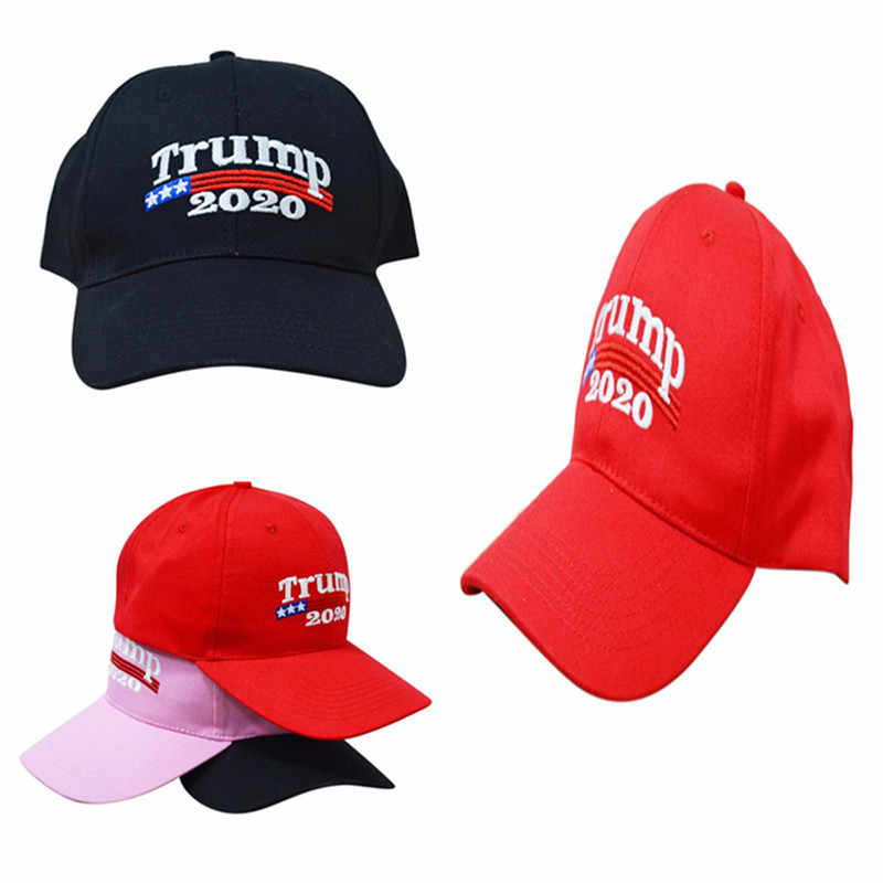 829dc3efbcf 1Pc New Arrival Trump 2020 Make America Great Again Donald Hat  Black