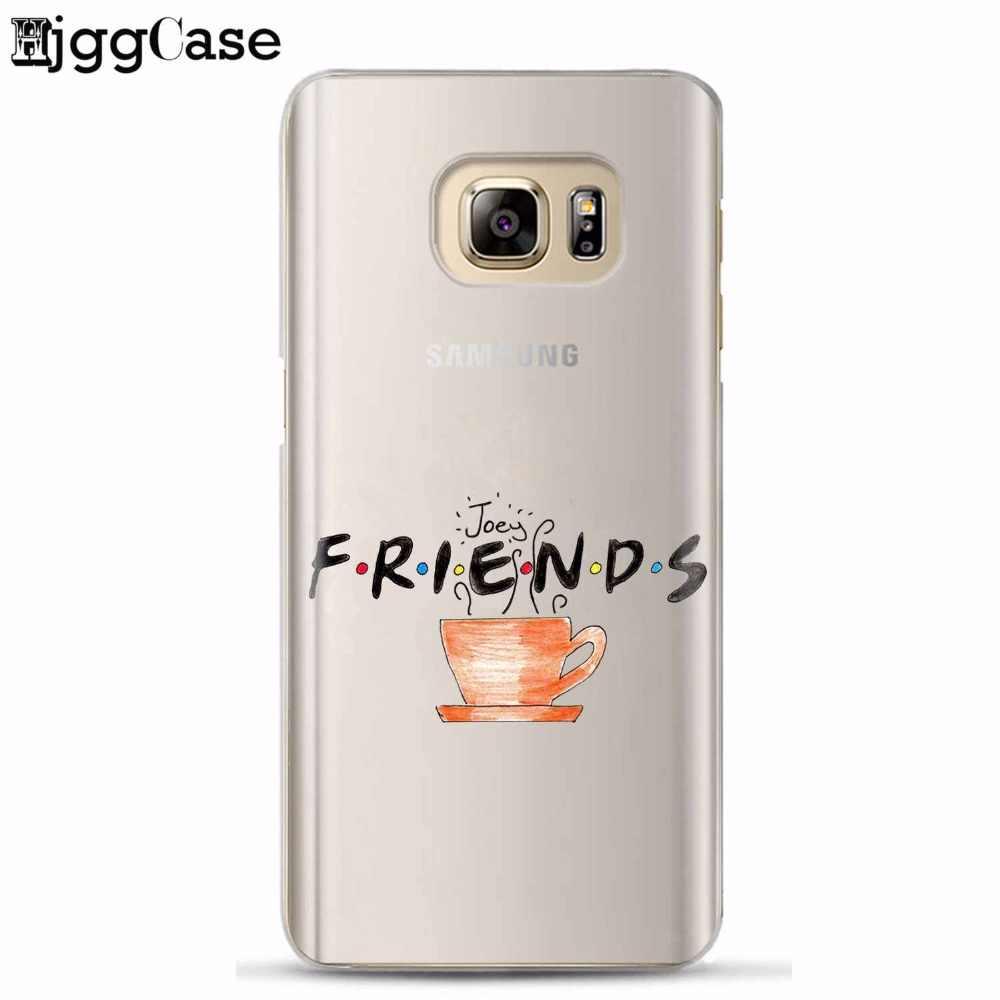 Teman TV Lucu Taman Central Perk TPU Telepon Kasus Untuk Samsung Galaxy S6 S7 tepi S8 S9 plus J5 J7 A3 A5 A7 2016 2017 A8 ditambah 2018