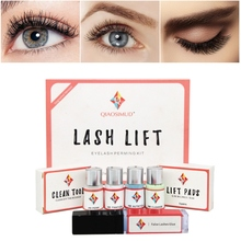 Professional lash lift kit eyelash lifting for perm with Rods Glue Beauty Salon