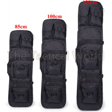 Outdoor Military 85 100 120cm RifleHunting Backpack Tactical Airsoft Nylon Square Carry Dual Rifle Soft Bag Gun Protection Case