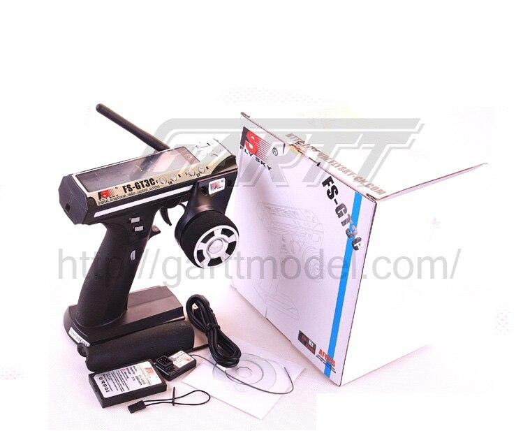 Flysky FS GT3C FS GT3C 2,4G 3CH arma controlador de transmisor y receptor y TX batería y Cable USB para RC barco del coche-in Partes y accesorios from Juguetes y pasatiempos    1