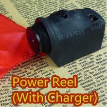 Power Reel (With Charger) – Trick,accessory,gimmick,Magic trick with free shipping