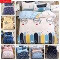 Комплект постельного белья для девочки-бойфренда  4 предмета  простыня  пододеяльник  наволочка  двойная наволочка  размер 1 5 м  1 8 м  2 0 м  3 пре...