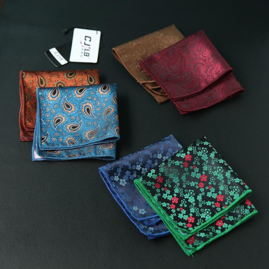 10pcs/lot 23colors Can Choice New Korean Fashion Designer High Quality Pocket Square Handkerchief  Men's Business Suit Pocket