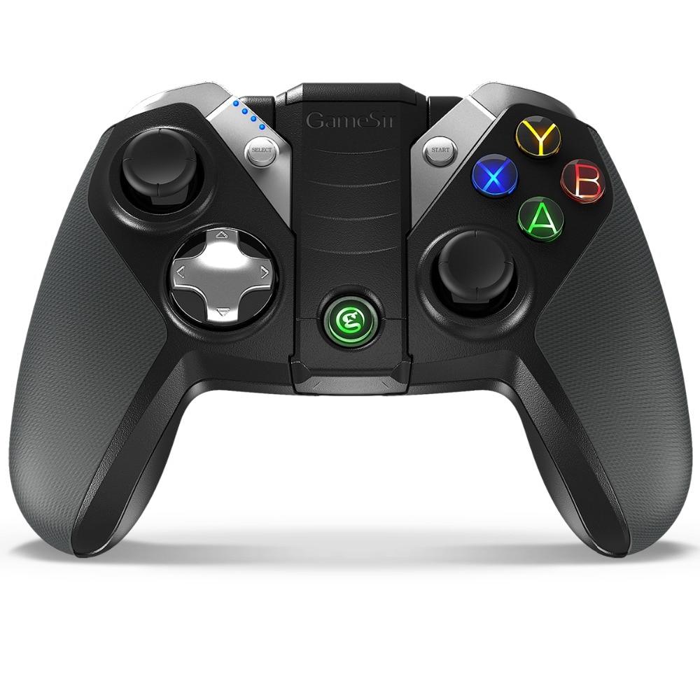 GameSir G4s Bluetooth Gamepad para o Android TV BOX Smartphone Tablet 2.4 ghz Controlador Sem Fio para PC Jogos VR (CN, NÓS, ES Post)
