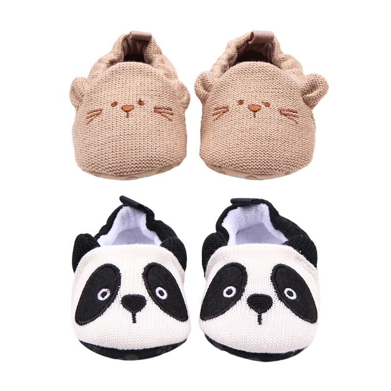 Cartoon knit cotton baby shoes baby shoes toddler shoes