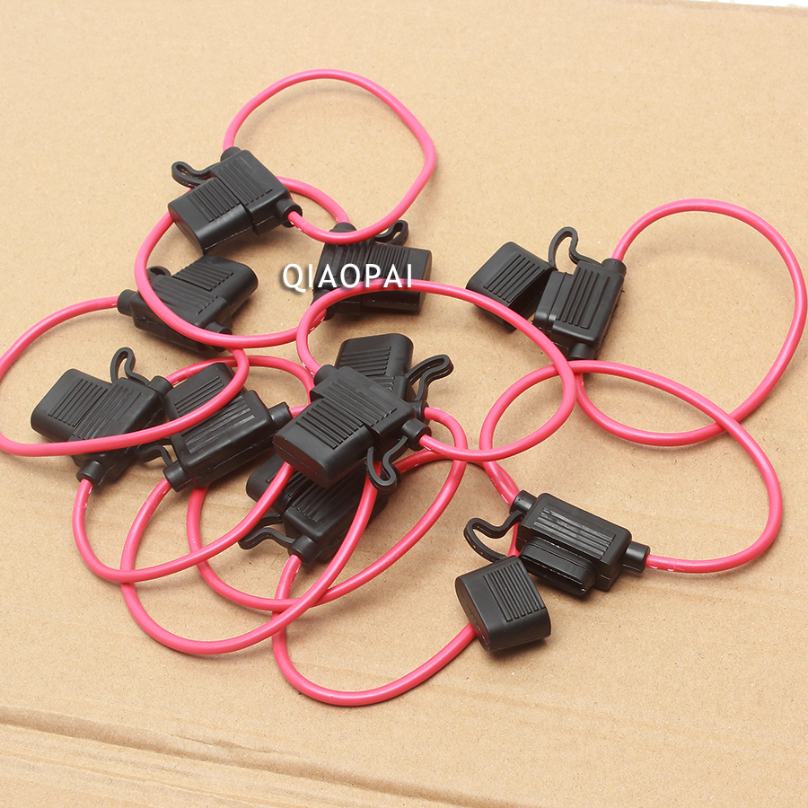 medium resolution of aliexpress com buy 10pc universal motorcycle protective shell fuse box waterproof copper wire line car electronics rubber fuse clip socket holder from