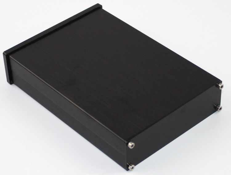 Kasus 118*36*167mm WA42 Penuh aluminium digital amplifier chassis/Amp amplifier/Decoder DAC/AMP Enclosure/kasus/DIY box