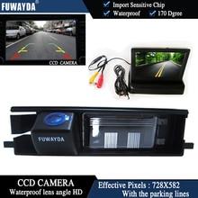 FUWAYDA Color CCD Car Chip Rear View font b Camera b font for Toyota RAV4 RAV
