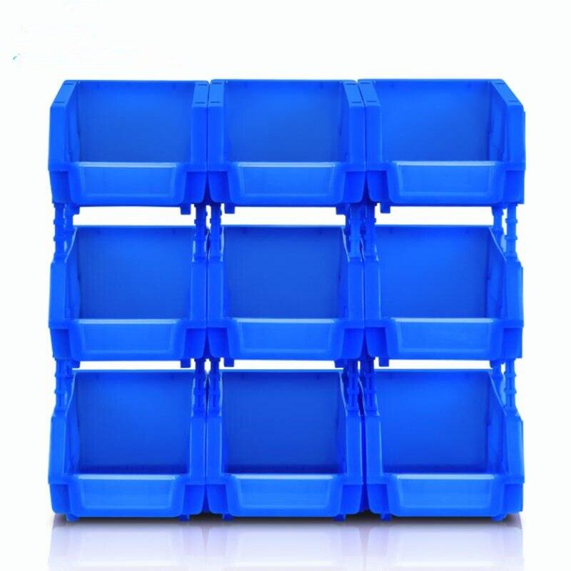 1pcs! Thicken Plastic Shelf Box Bin Storage Rack Workshop Combination Components Box Tool Organizer
