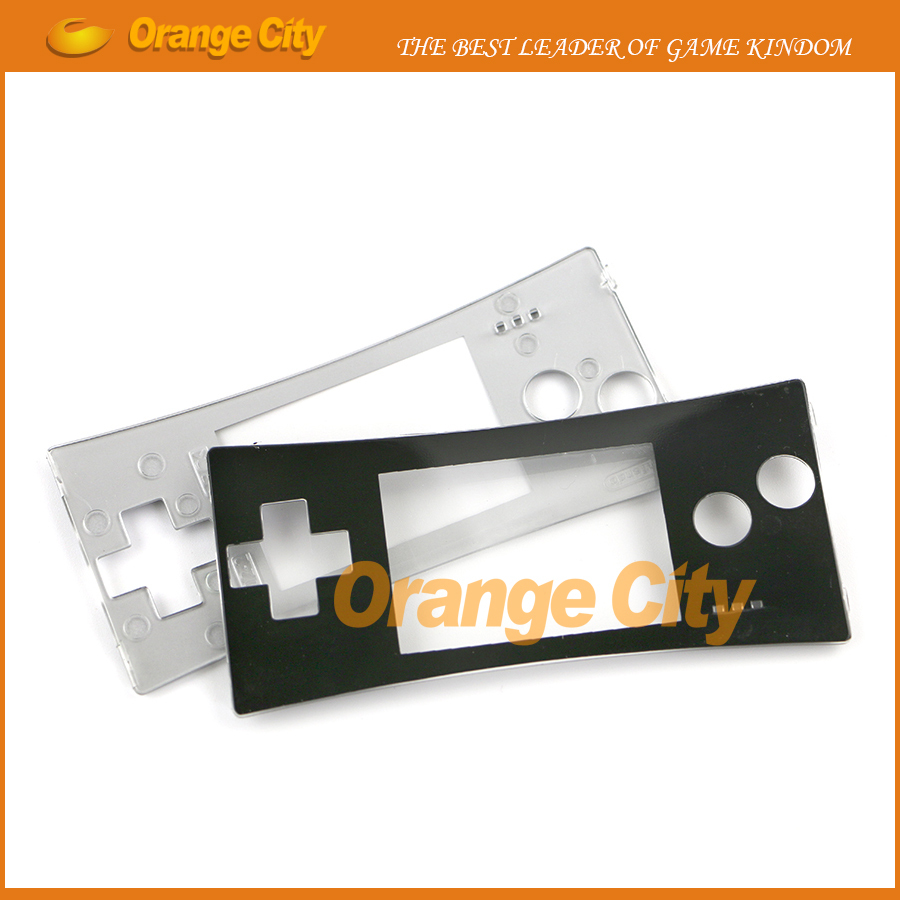 ChengChengDianWan 2 colors Face cover for gameboy micro GBM faceplate free screen film 10pcs lot