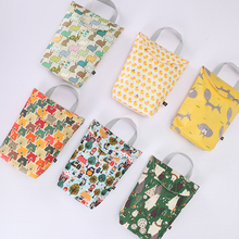 Multifunctional Baby Diaper Caddy Organizer Reusable Waterproof Fashion Prints Wet/Dry Bag Mummy Storage Travel Nappy