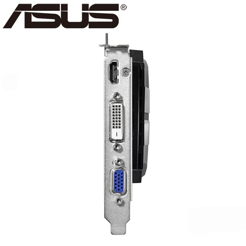 Видеокарта ASUS GTX 750Ti, 2 ГБ 128 бит GDDR5, графические карты для nVIDIA Geforce GTX 750 Ti, б/у, карты VGA 650 760 1050-2