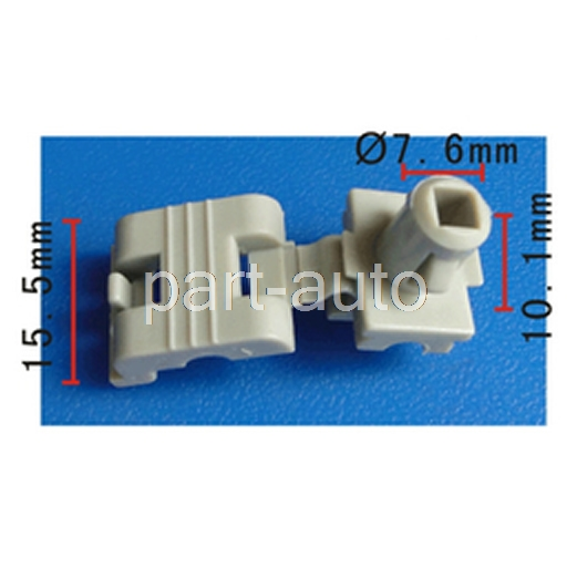 100 FOR AVALANCHE YUKON ESCALADE TAILGATE HANDLE LOCK ROD RETAINER CLIP 16629990 16675980 88936987 A19658 A 19658