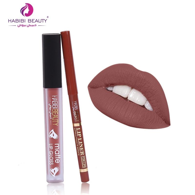 Lip Stick Matte Batom Liquid Lipstick Makeup Waterproof