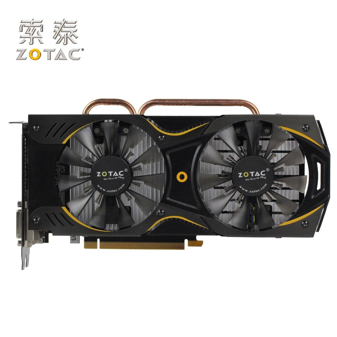 ZOTAC-tarjeta de vídeo Original, GeForce GTX950-2GD5 Thunderbolt HA, 128Bit, GDDR5, para nVIDIA GTX 900, 950, 2G, 6610MHz, 2 GB