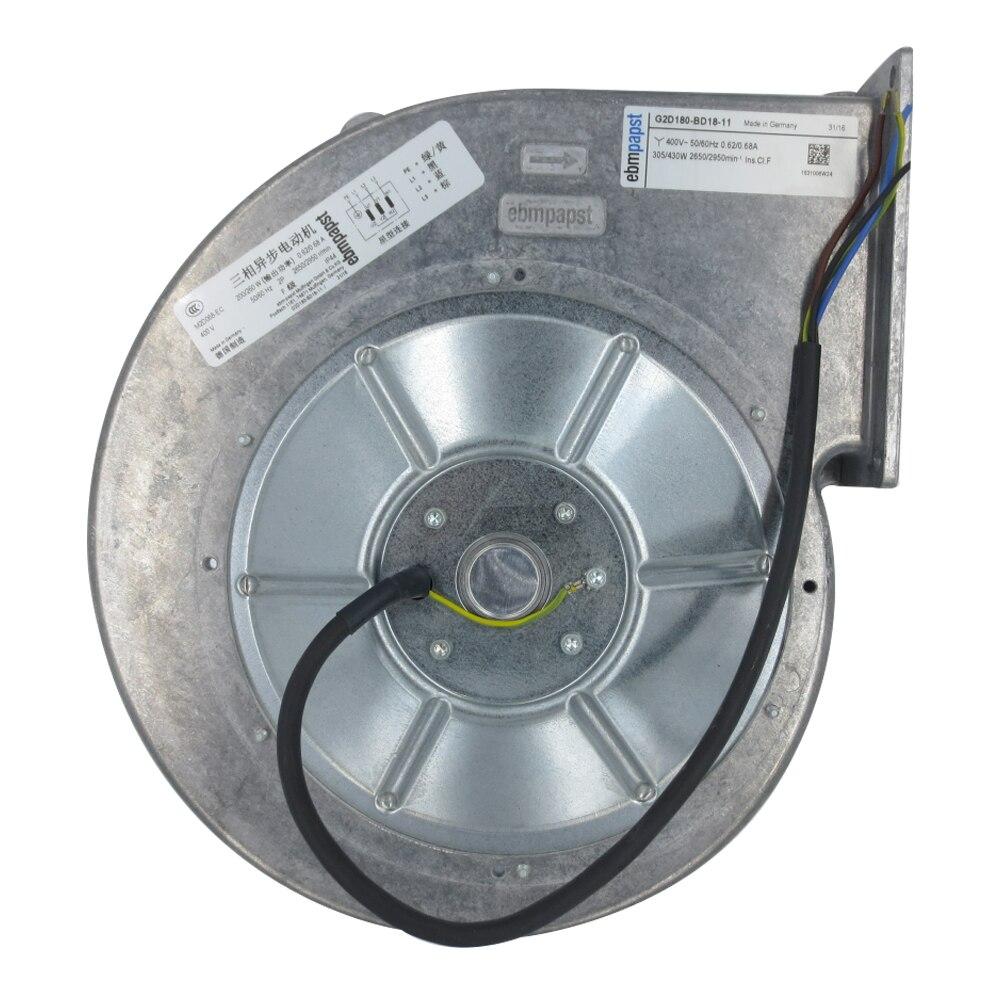 Original Authentic German Ebmpapst Fan G2D180-BD18-11/13 Siemens Inverter Fan
