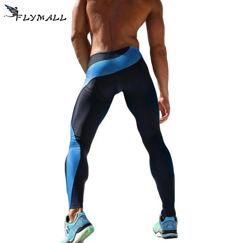 Sport Yoga Pant Mens Joggers Sexy Tight Pants Men Compression Pants Ankle Length Pants Male Trousers Sweatpants Trousers Skinny