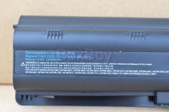 ApexWay 8800mAh batería para laptop HP Pavilion DV7 DM4 DV3 DV5 DV6 - Accesorios para laptop - foto 4