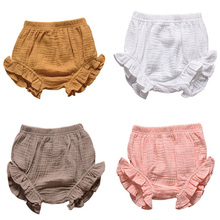 Bloomers Baby Playsuit Shorts Kid Toddler Clothing Bread-Pants Bottoms Girl Infant Summer