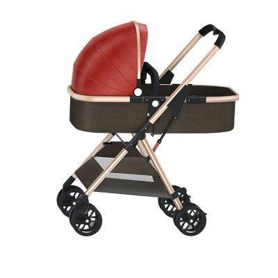 alta paisagem carrinho de crianca pode ser quatro estacoes carro universal dobravel ultra luz one