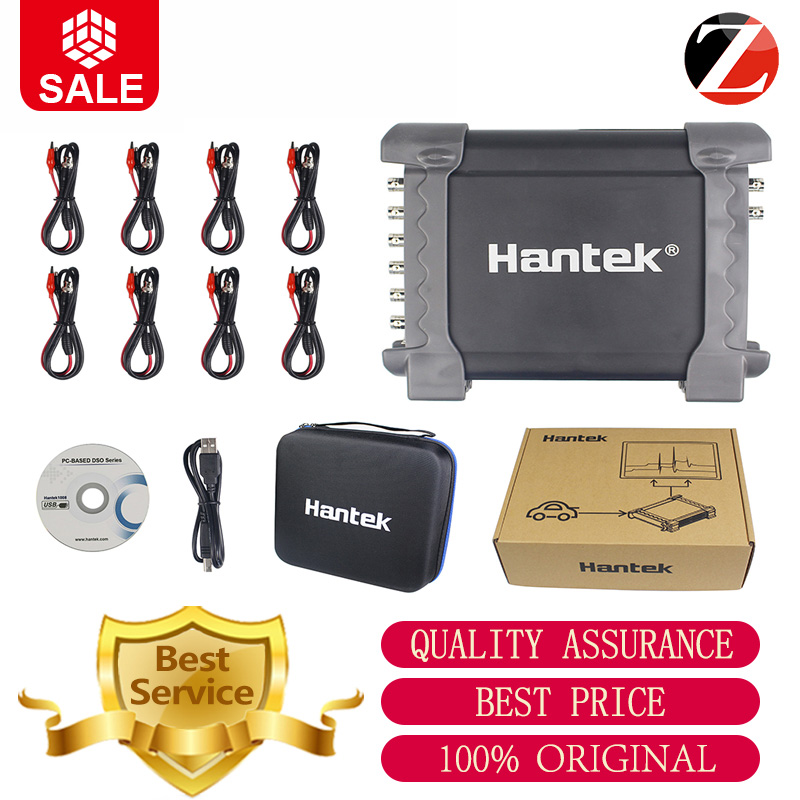 Hantek 1008B Auto Scope DAQ 8CH Generator 8 Channels 1008B Digital Storage Hantek 1008B Oscilloscopes 2