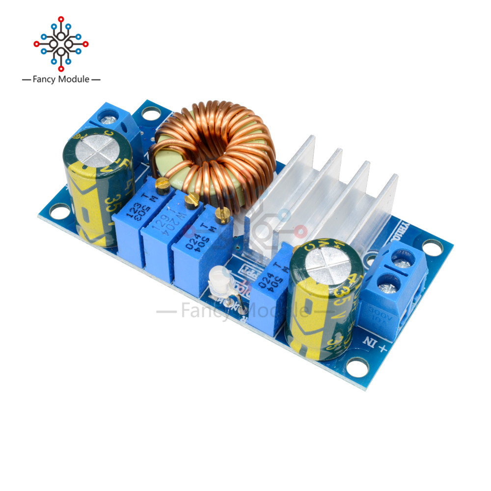 цена на DC-DC 5A Buck Constant Voltage Converter Current MPPT Solar Panel Controller 6-36V To 1.25-32V Step Down Charging Module