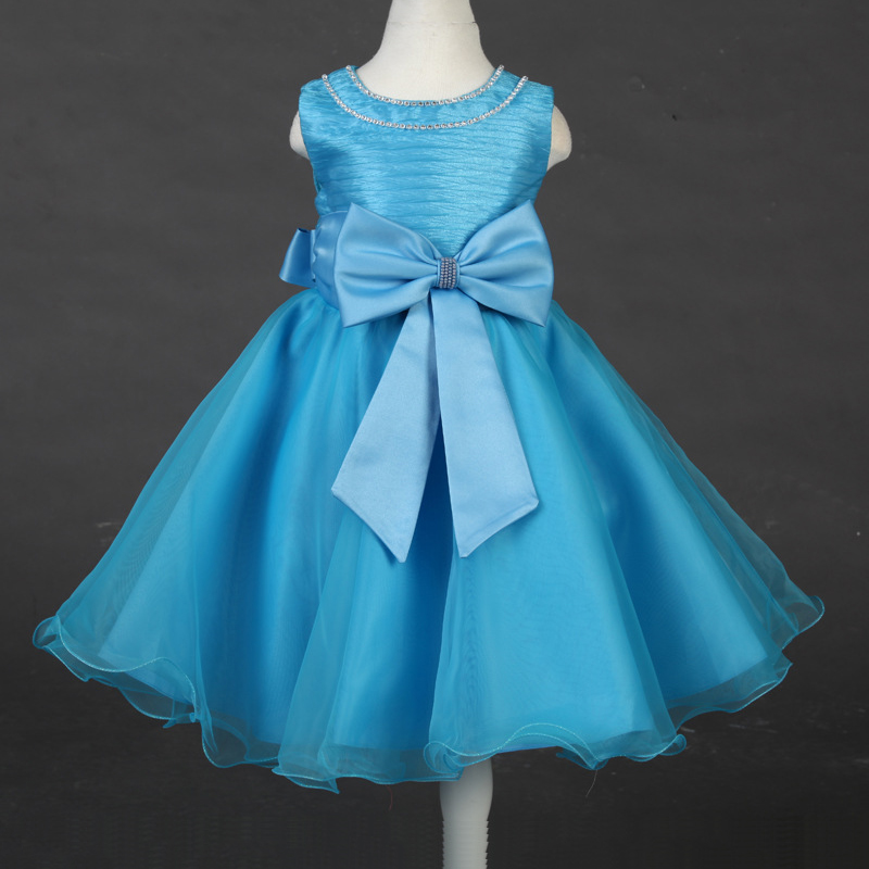 Compare Prices on Aqua Blue Flower Girl Dresses- Online Shopping ...