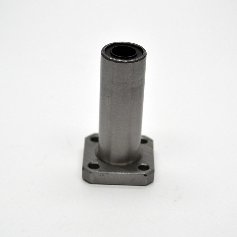 4pcs/lot LMK10LUU 10mm long type flange bearing linear bush 3d priter xyz cnc parts For 10mm Linear Shaft линейный подшипник rdb 4pcs shf10 10 cnc xyz