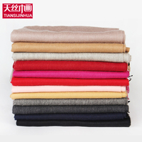 2017 Luxury Brand 100 Lamb Wool Scarf Women Wool Pashmina Bandana Winter Solid Women Cashmere Wool