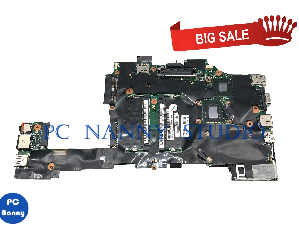 PANANNY for Lenovo ThinkPad X220T Tablet Mainboard <font><b>i7</b></font>-<font><b>2620m</b></font> 2.80GHz 04Y1814 Motherboard DDR3 tested image