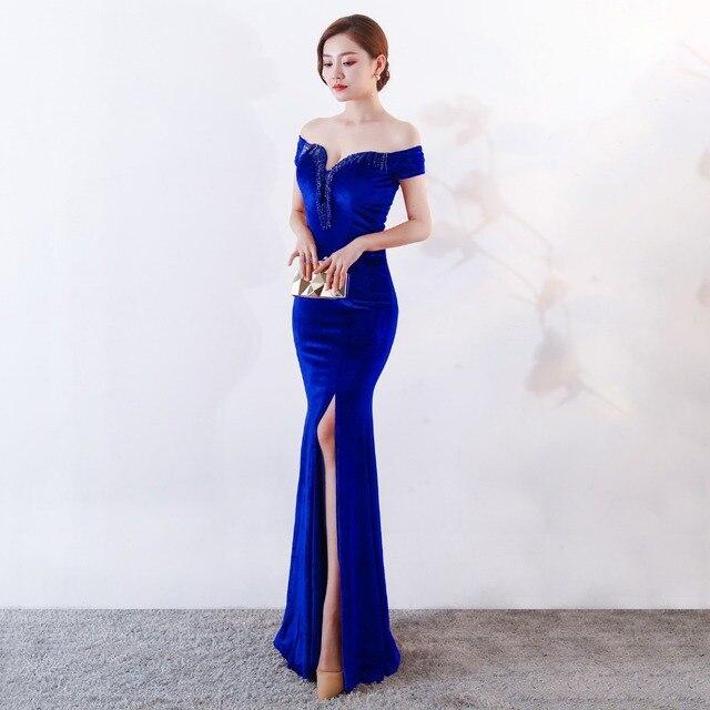 7b18c78a159 Sexy Velvet Women Dress Elegant Vestidos Verano Long Floor Length Tassel  Wedding Maxi Dress Evening Gown Black Red Dress