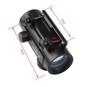 Image 4 - Svbony 1x30mm Sight Tactical Red Green Dot Riflescope Five Brightness Setting Reflex Sight Scope w/ 20mm Rail Mount F9148A
