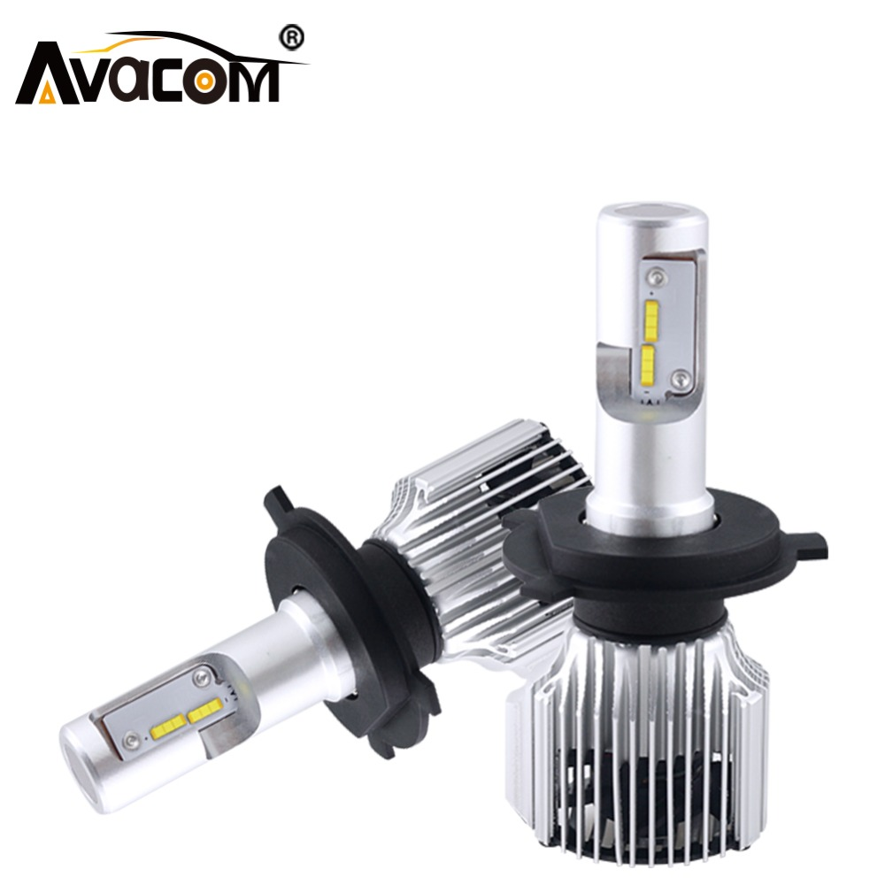 Avacom H7 H1 LED Bulb 8000lm 12V Car Headlight LED Auto Lamp Canbus H11 9004 HB3 HB4 HIR2 H27 ZES 6000K 72W 24V H4 LED Auto Bulb dual charger vertical controller dock station charging bracket stand cooling cooler fan 2 usb power hub for playstation4 ps4
