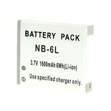 NB6L NB-6L NB-6LH Digital de Baterías para Canon Power shot Cámaras SX520 HS SX530 SX600 SX700 SX610 SX710 IXUS 85 95 200 210 105