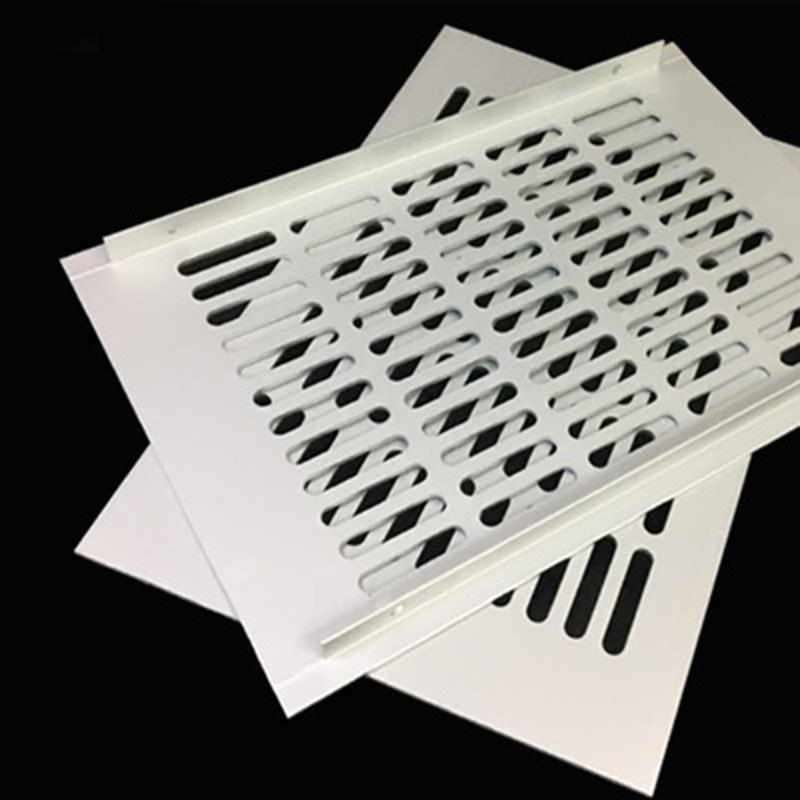 2Pcs 200mm 8 wide Rectangle Aluminum air vent grille cover ventilator FURNITURE ARCHITECTURAL Shoe Closet Wall