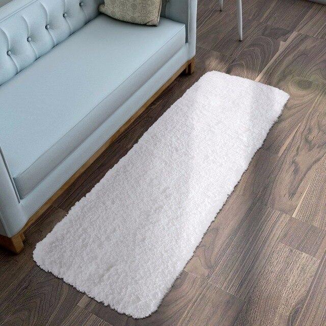 bathroom mat. Lifewit 59 x20  Bath Runner Rug Soft Shaggy Mat Non slip Rubber Aliexpress com Buy