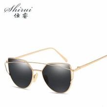 Cat eye Sunglasses Women Luxury Brand Designer Metal Original Sun Glasses For Female vintage Oculos De Sol Feminino okulary стоимость