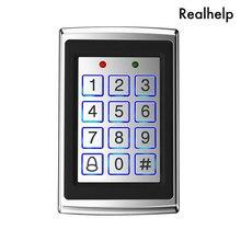 8000 gli utenti di Cassa del Metallo Tastiera di Controllo di Accesso con Retroilluminazione Porta Singola di Controllo Indipendente di Codice Dispositivo di Accesso Digitale