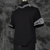 LOL Yasuo Black Unisex Cosplay T shirt Free Shipping
