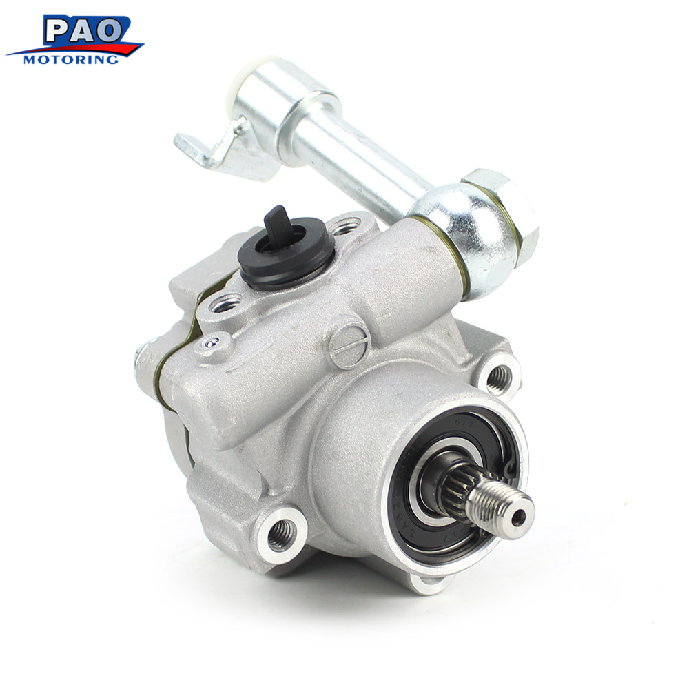 New Power Steering Pump Fit For Nissan Altima Maxima Quest 3.5 V6 2002-2009 49110-7Y000,49110-8J200,49110-CK00 Booster Clutch new power steering pump assy for nissan urvan 49110 vw000