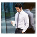 Men fashion Cufflinks Shirt New Men's Shirt Long Sleeve Casual Male custom Shirts Slim Fit Dress Shirts For Men