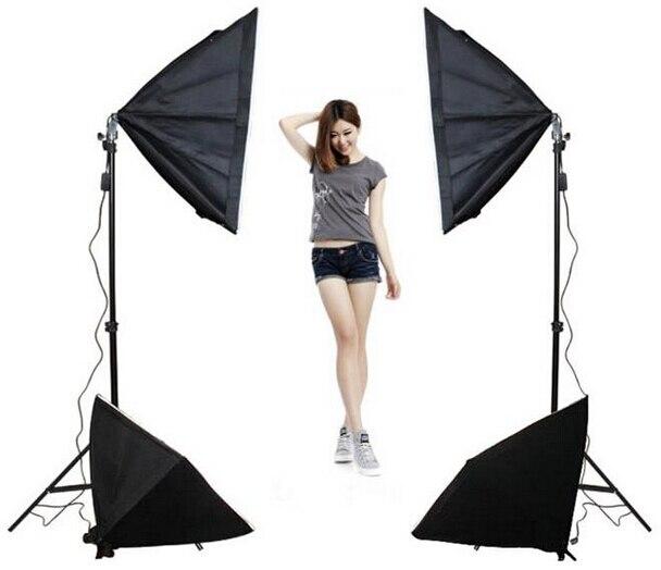 Студия фотостудия фотостудия портрет x4 70 см софтбокс фотографии свет одежды фотографий ползунки фото санки стедикам ручки железная дорога