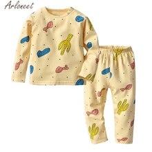 6477e85a8723a0 ARLONEET maluch dzieci dziewczynek owiec drukuj piżamy bielizna nocna topy  spodnie stroje zestaw Elsa kostium 19Fer25