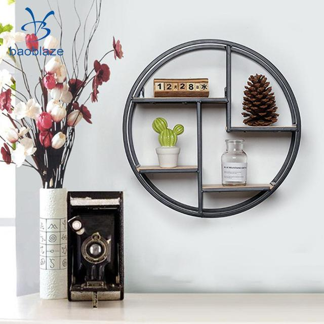 Chinese Garden Design Floating Wall Shelf Storage Display Rack Holder Flowers Vase Picture Calendar CDS Display